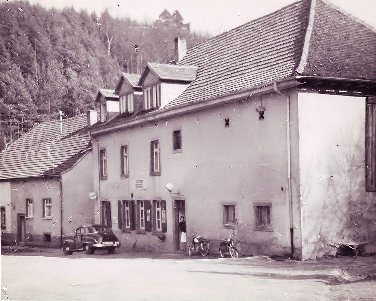 Kneispermühle damals
